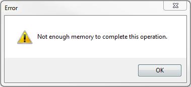no-enough-memory