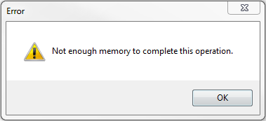 no-enough-memory